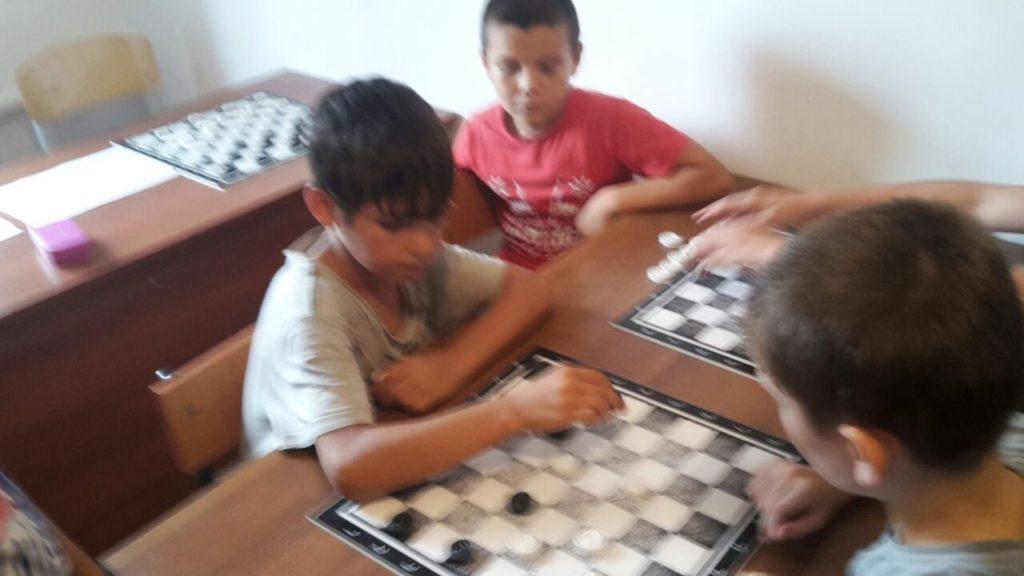 Городской турнир по шашкам