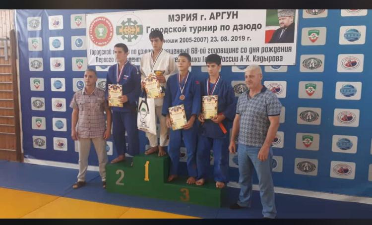 Городской турнир приуроченный 68-ой годовщине со дня рождения Первого Президента  Чеченской республи