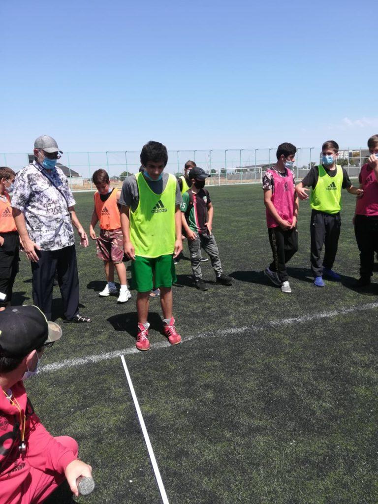 Городской турнир, по футболу приуроченный ко « Дню физкультурника» и « Всероссийскому Олимпийскому д