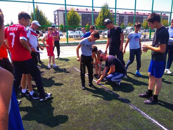 Городской турнир, по футболу приуроченный ко « Дню физкультурника» и  « Всероссийскому Олимпийскому