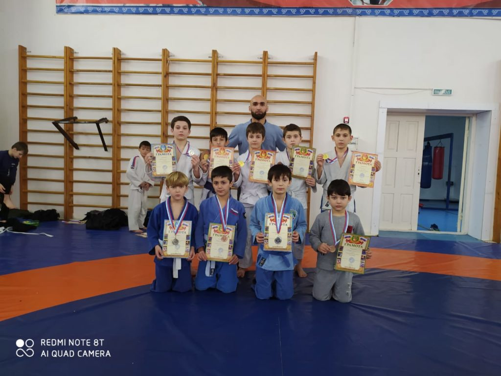 Воспитанники ГБУ « РСШОР по дзюдо г. Аргун» приняли участие  в Открытом   турнире по дзюдо  среди юн