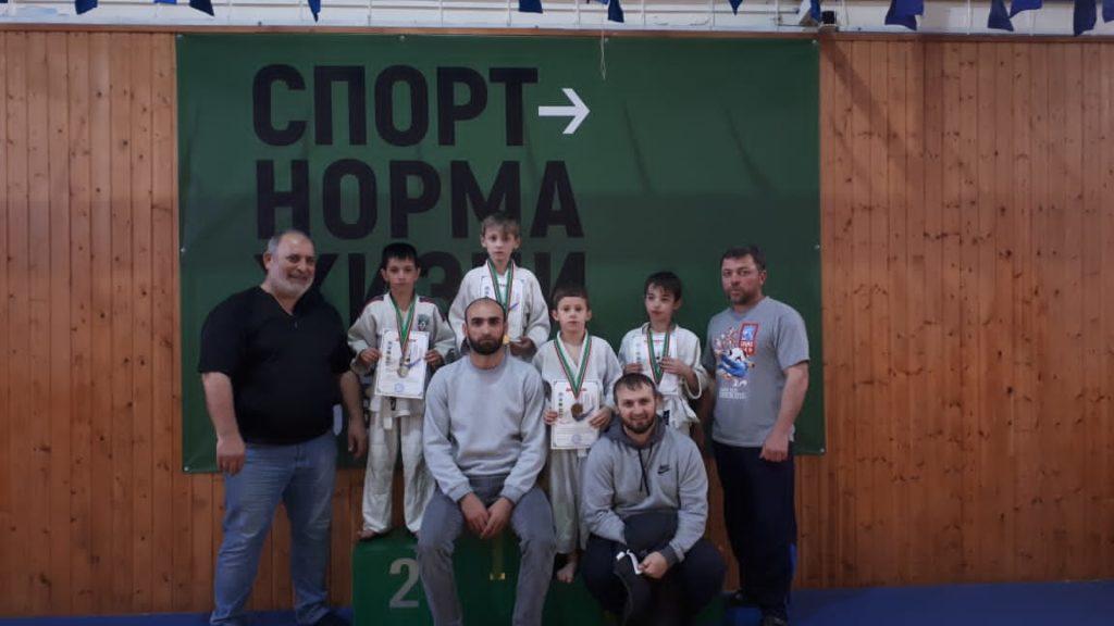 ГБУ «РСШОР по дзюдо г. Аргун» провел городской турнир по дзюдо приуроченный дню Конституции Чеченск